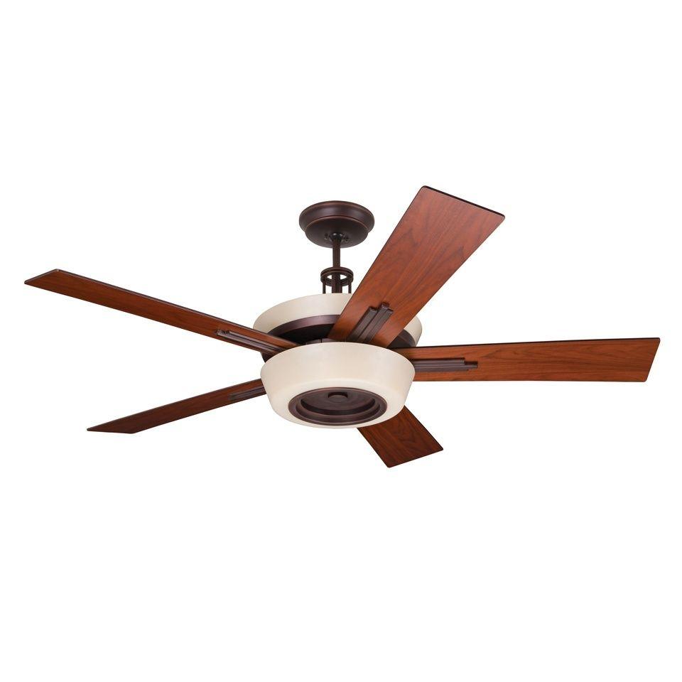 Steel Energy Star Ceiling Fan With Accent Lighting Emerson Ceiling Fan Bronze Ceiling Fan Ceiling Fan Blades