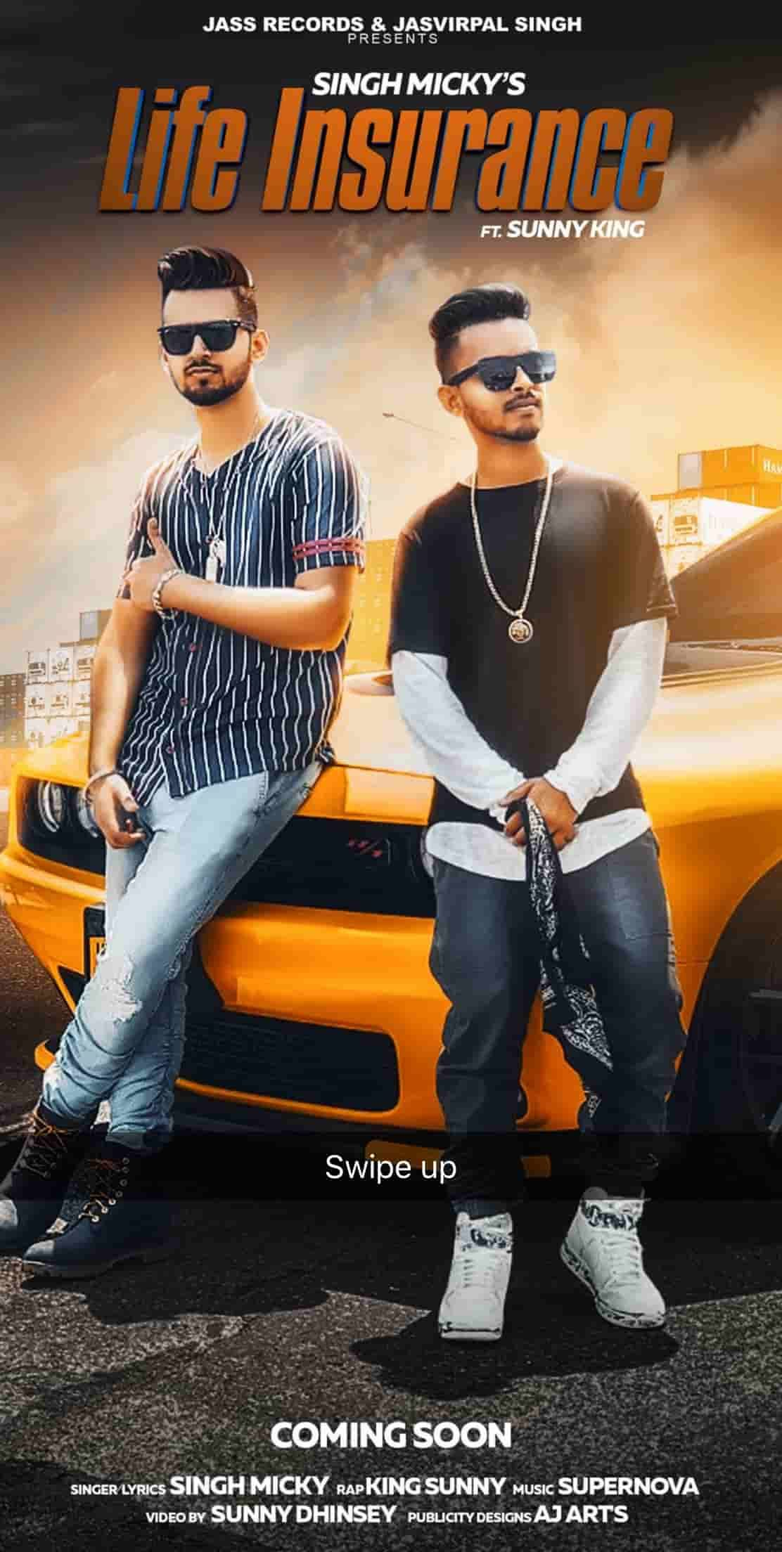 life insurance is new punjabi songs 2019 by Singh micky