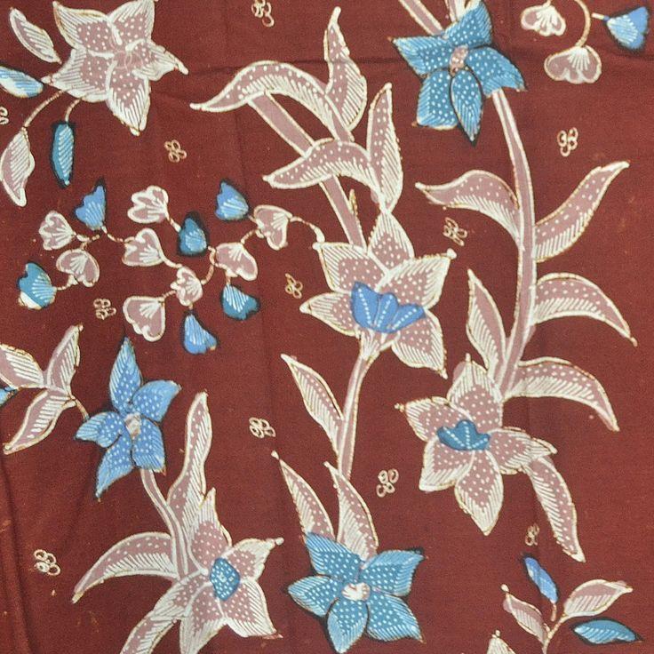 Pin Oleh Anne Marie Di Batik Sulaman Batik Bunga