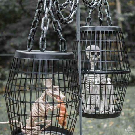 Hanging Cage Halloween Prop Halloween Pinterest Halloween