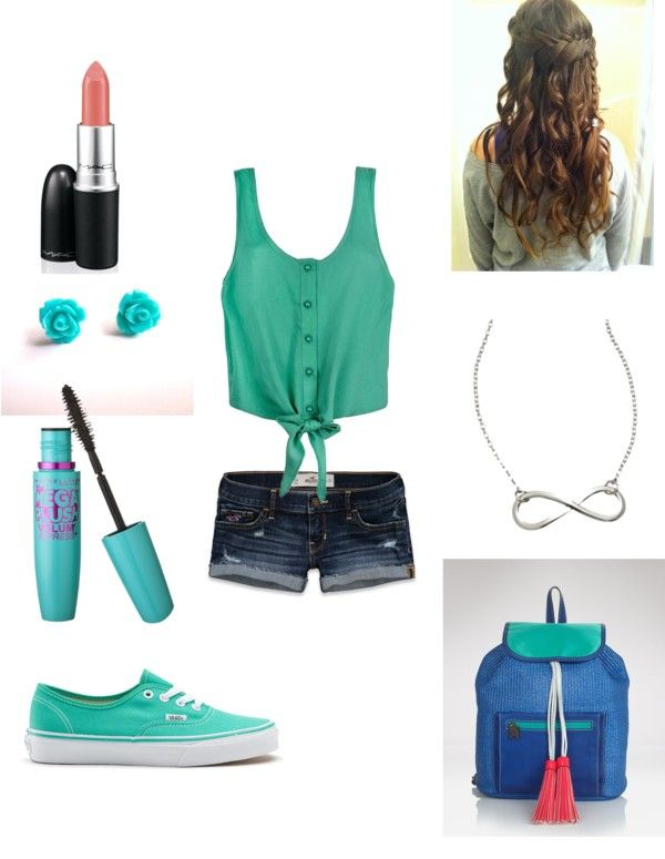 """""""Summer ~"""" by priscillagonzalez18 ❤ liked on Polyvore"""