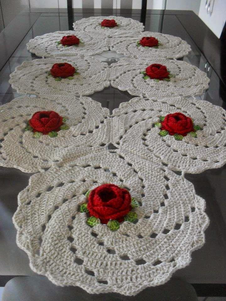 Artesanato Infantil Passo A Passo ~ ARTES E ARTESANATO DA LEONILDA TAPETE DE BARBANTE Croche de barbante Pinterest Tapete de