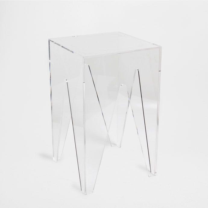TABURETE METACRILATO - Muebles Auxiliares - Cama | Zara Home México ...