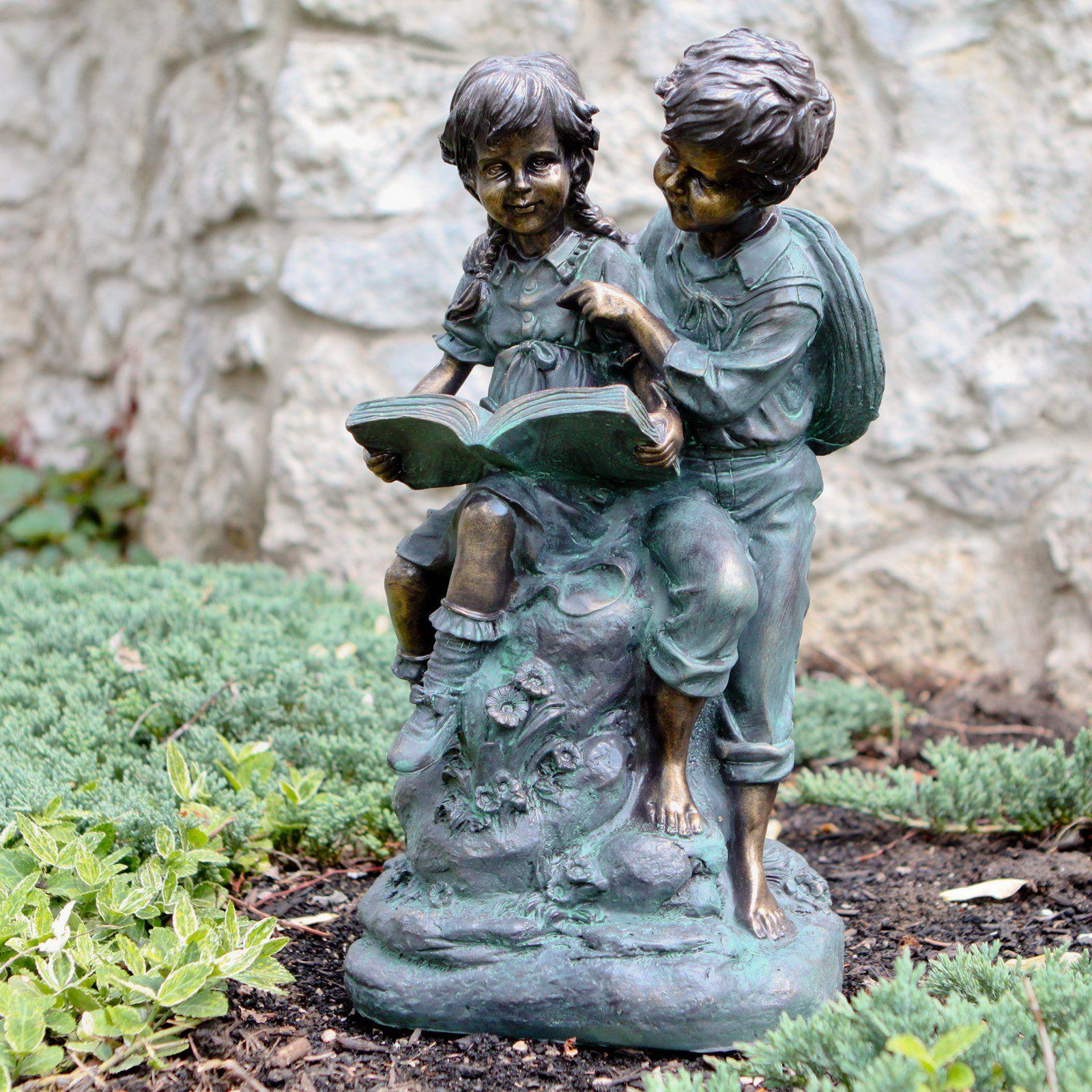 Garden Statues · Alpine Girl And Boy ...