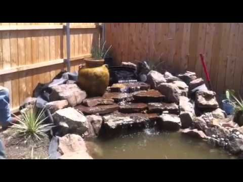 Landscape Company Fort Worth Tx Landscape Design Installation Waterfall Water Feature Landscape Design Landscaping Company Landscape Projects