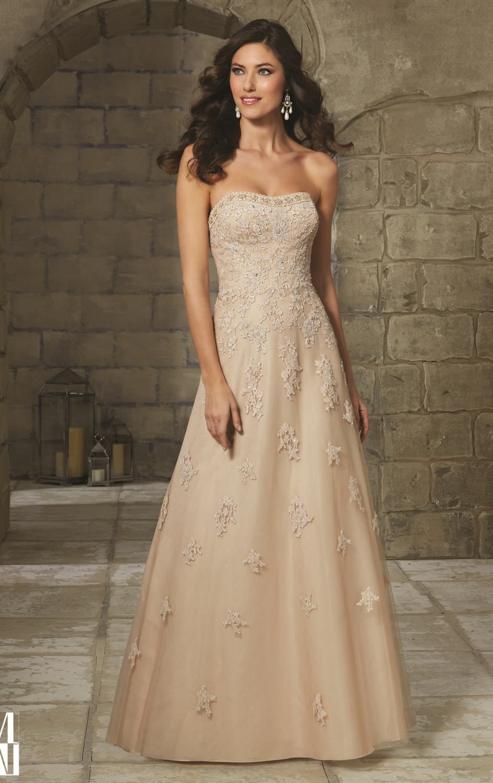Mori lee gold wedding dress  Mori Lee  by Mori Lee VM  Inspiration Dresses  Pinterest