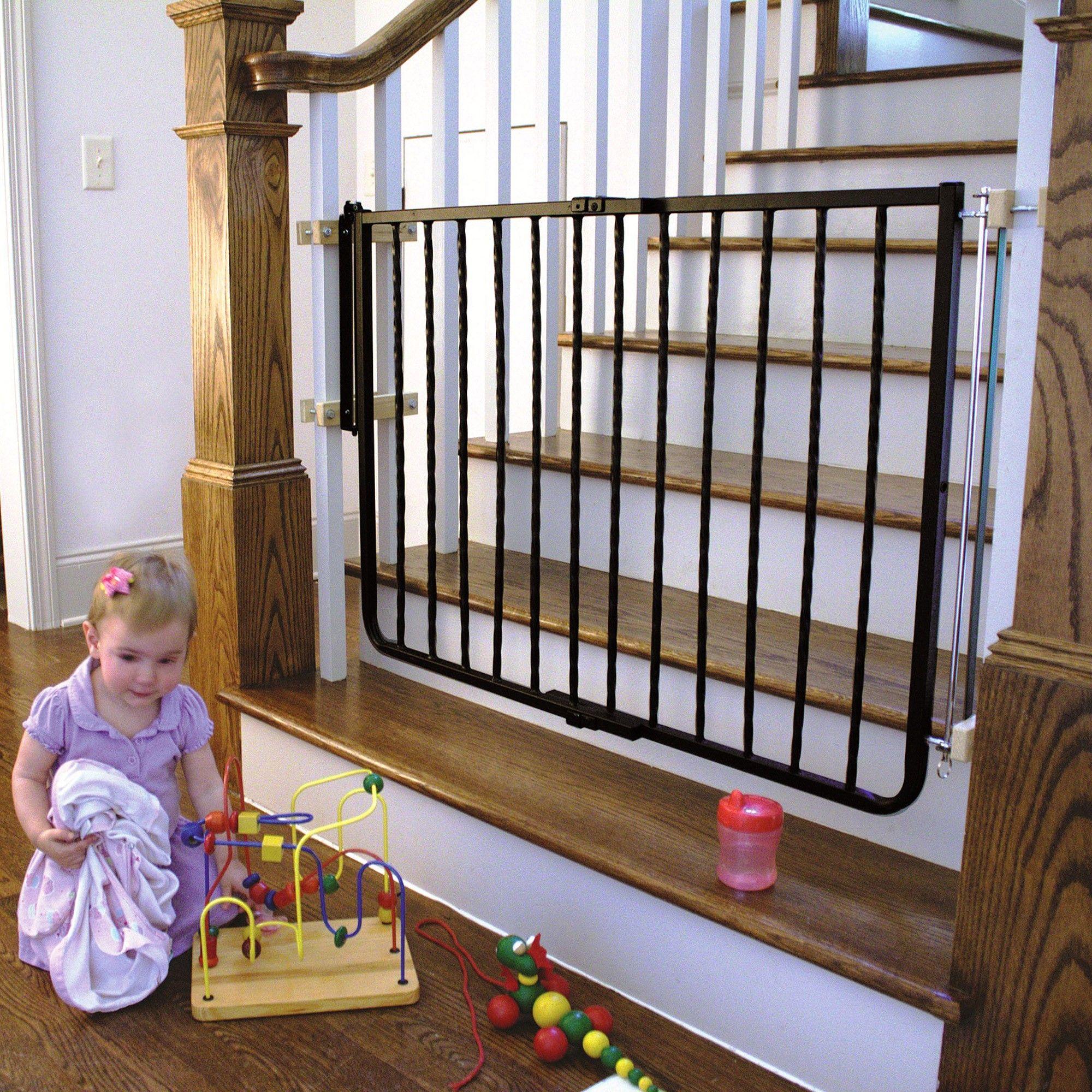 Babyproofing 101 Wrought iron decor, Baby gates, Iron decor