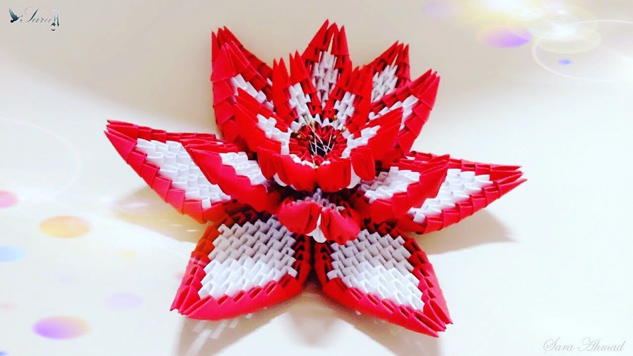 Simple 3D Origami Vase - Tutorial • Art Platter | 720x1280