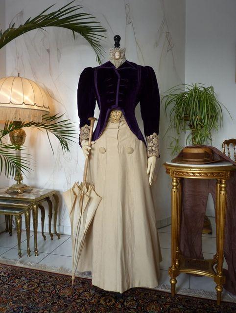 Purple Fancy Jacket, ca. 1899