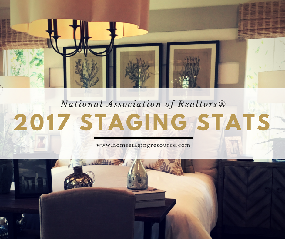 2017 home staging statistics and FREE image