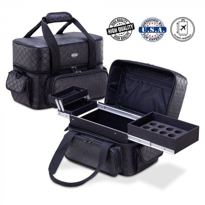 a41fbe12d7 Mua - επαγγελματική βαλίτσα ομορφιάς - 5830604 Επαγγελματική τσάντα ομορφιάς  με ειδικές θήκες για τα βερνίκια