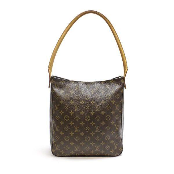 Louis Vuitton Looping GM Monogram Shoulder bags Brown Canvas M51145
