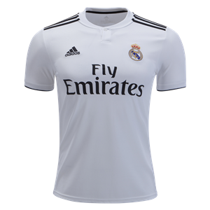Real Madrid 18/19 Home Jersey by adidas - WorldSoccershop.com ...