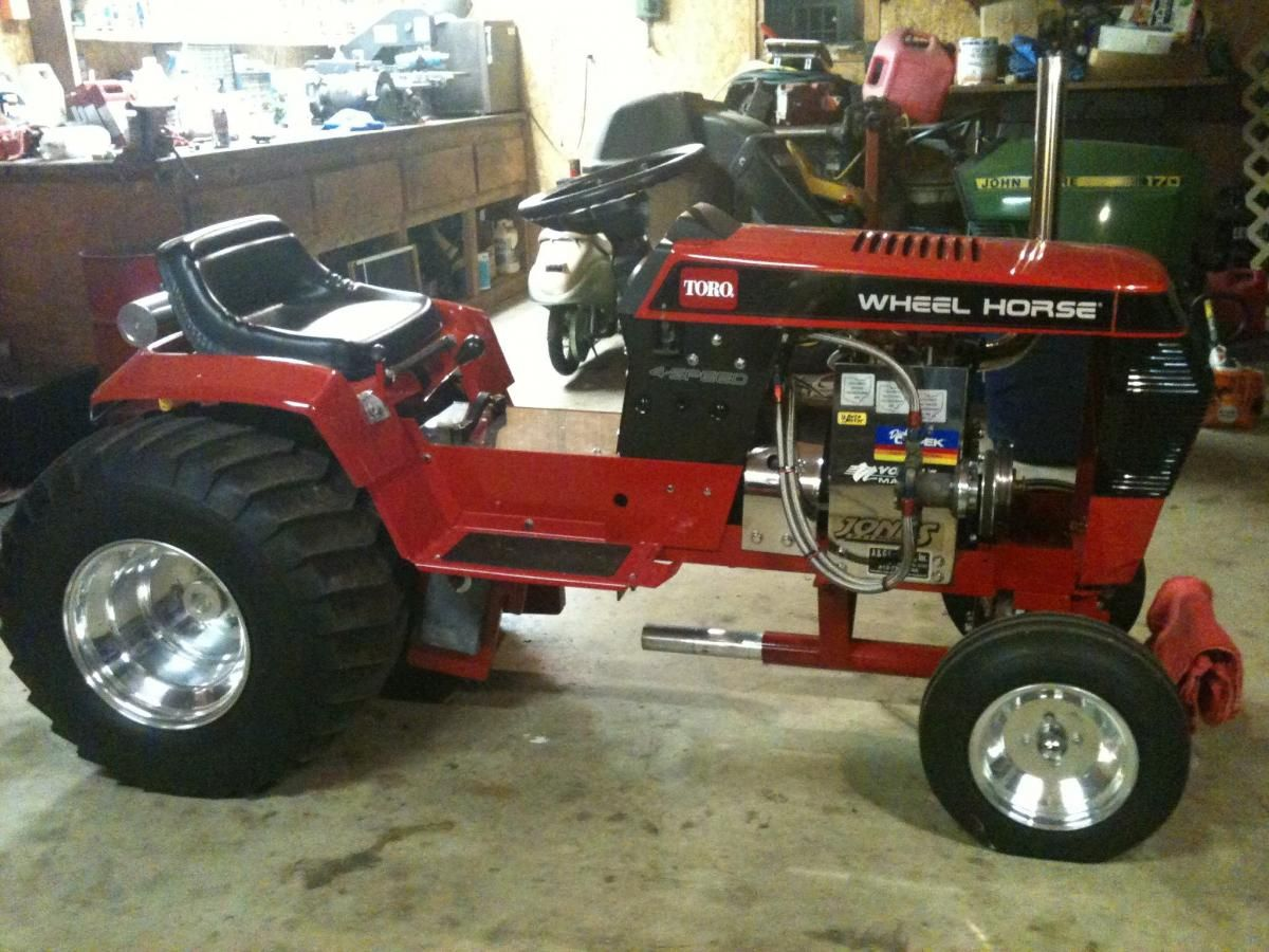 Super Stock Tractor Pulling Engines : Wheel horse super stock pulling tractor pullers