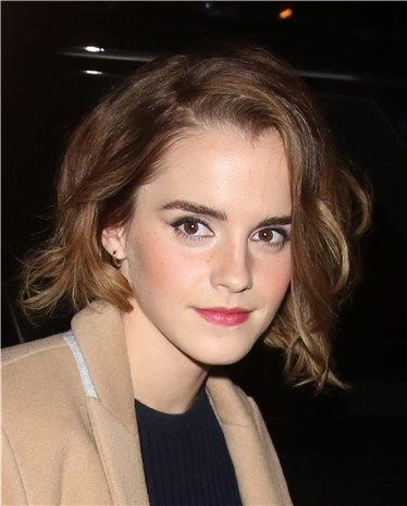 Emma Watson estrena corte de pelo: un bob asimétrico