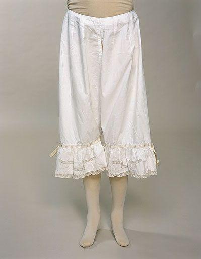 19th Century Women S Underwear Known As Drawers Were Worn Under