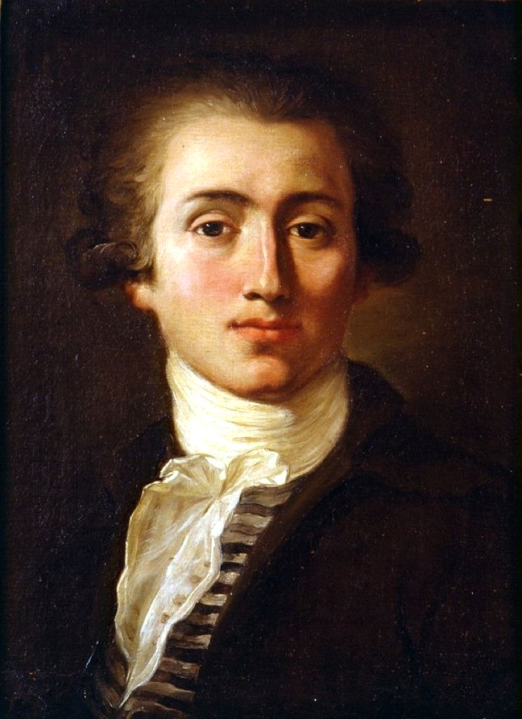 Jacques Reattu, Self-Portrait, 1785 #art #arthistory #fashionablemale