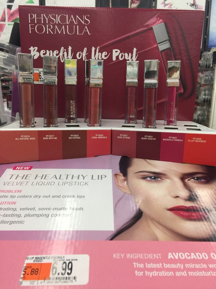 Physicians Formula The Healthy Lip Velvet Liquid Lipstick ($6.99) is a new  liquid lipstick that's launching at drugstores for Spring 2018 in eight  shade se