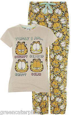 f429c9e0f82d Garfield   Odie Primark Long Sleeve Pyjamas PJ SET Sizes 6-20 NEW Official  - Click. Buy. Love. - 1