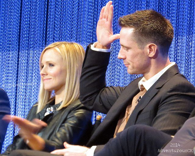 Kristen Bell & Jason Dohring. Celebrity friendships made in heaven.