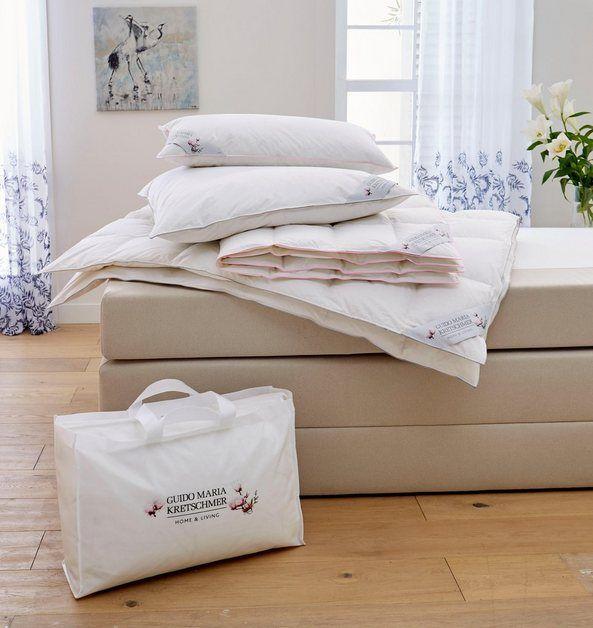 Gänsedaunenbettdecke, »Magnolia«, Guido Maria Kretschmer Home&Living, normal, Füllung: 100% Gänsedaunen, Bezug: 100% Baumwolle, (1-tlg) online kaufen | OTTO