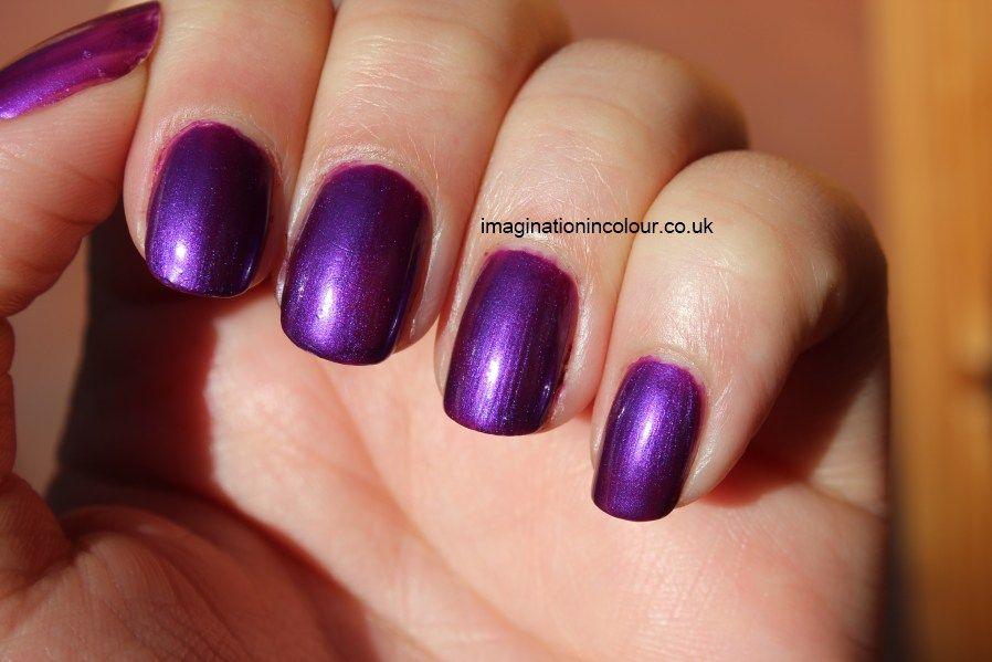 No 7 Vivid Violet Boots UK nail polish Stay Perfect Nail Colour ...
