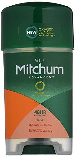 Mitchum Antiperspirant Deodorant Clear Gel Sport 225 Oz 63 G Pack Of 6 Learn More By Visiting The Image Link Deodorant Mens Deodorant Deodorant Powder