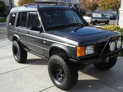 1999 land rover discovery ii modified off road land rover