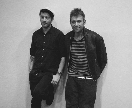 Jamie Hewlett & Damon Albarn