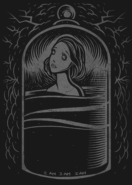 Dave Quiggle Inspired By The Bell Jar From Sylvia Plath Art Illustration Essays Essay