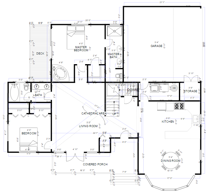 Smart Draw Free Online Program Floor Plans Drafting Software House Floor Plans