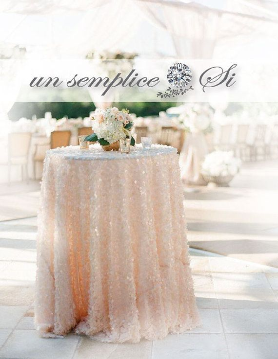 Design Your Tablecloth With Largest Color Selection Of Sequin