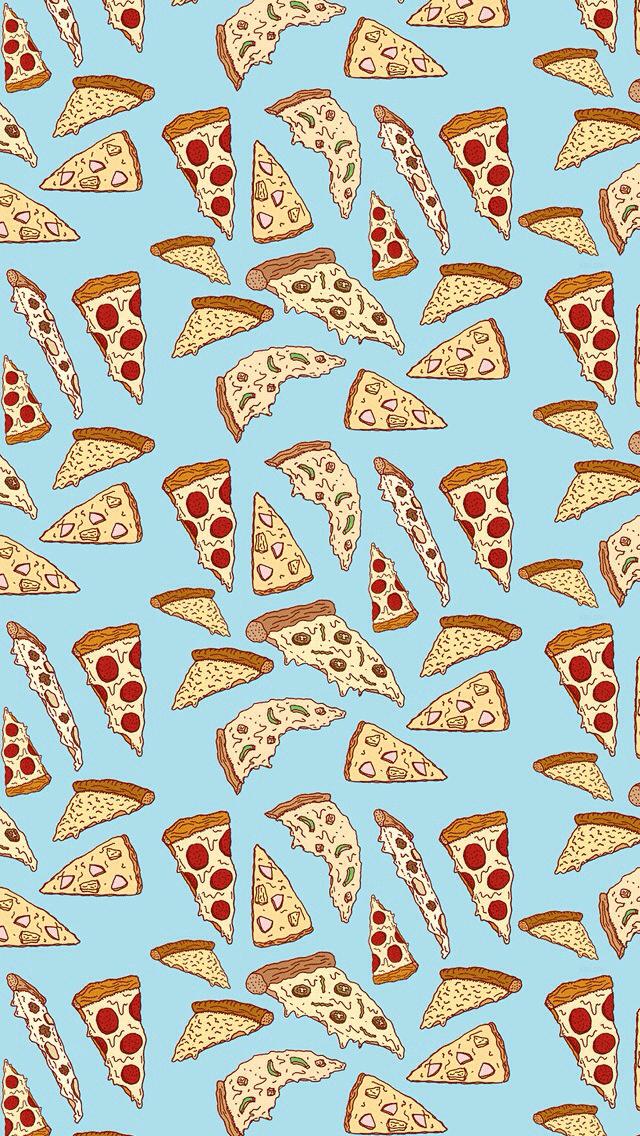 Pizza Wallpaper Pattern