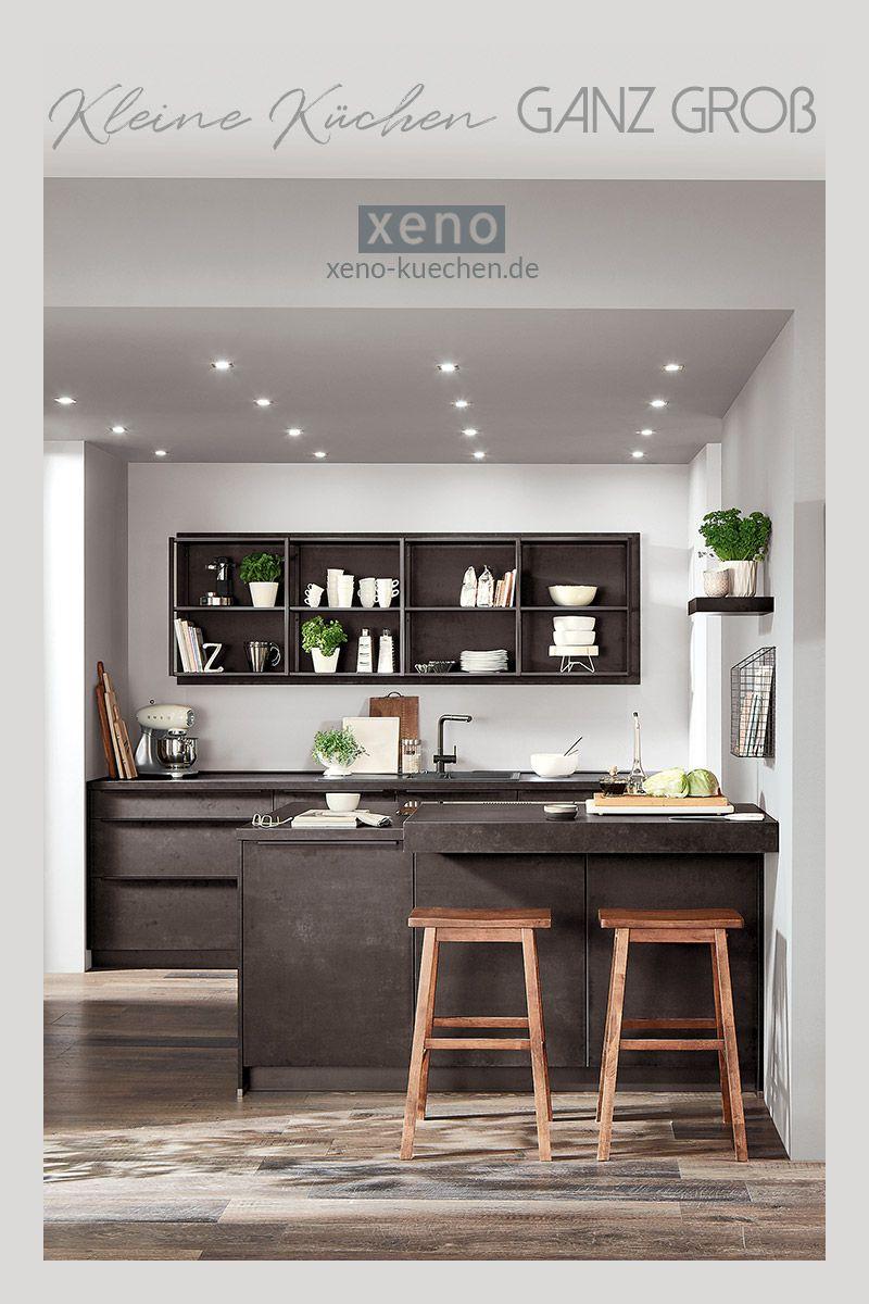 Kleine Küchen ganz groß   Modern kitchen renovation, Modern ...