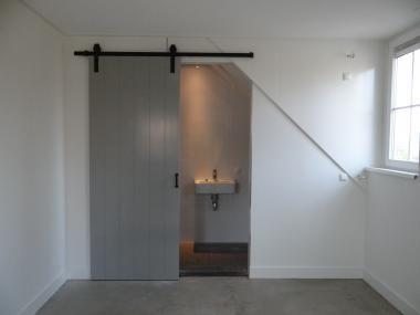 Schuifdeur Badkamer Hout : Schuifdeur loftdeur dekkend geschilderd hout loft deuren