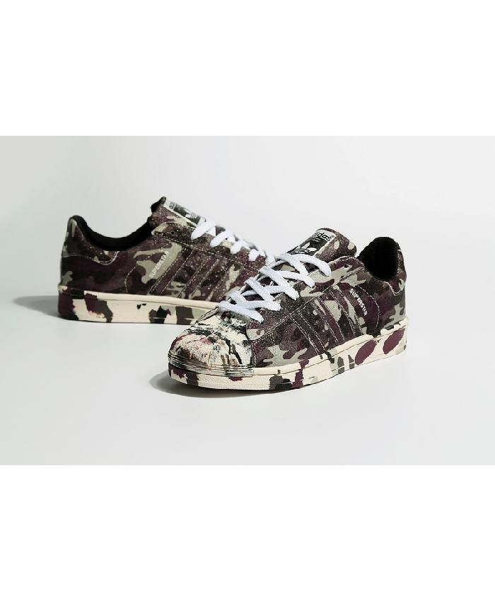 Adidas Originals Superstar Graphic Pack Camo Grey Shoes The latest style,  highlight the vitality of