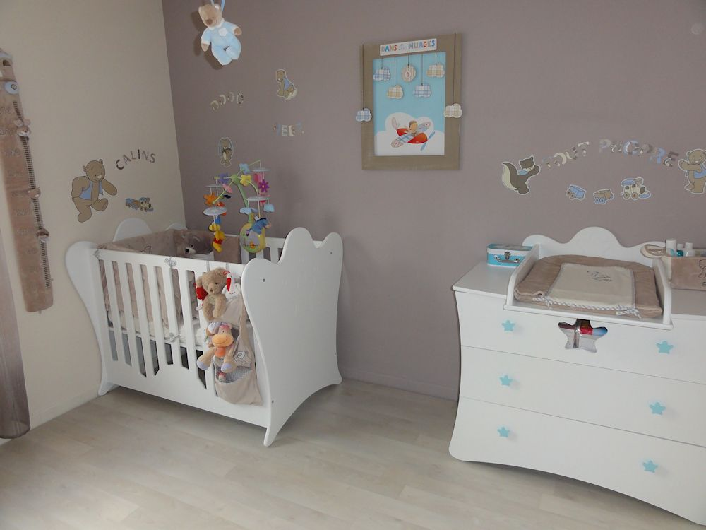 for Modele deco chambre fille