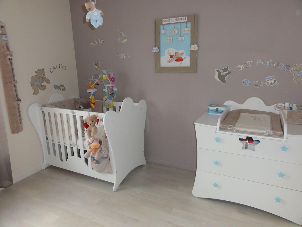 Épinglé par Yosra Kacem sur Baby nursery :) | Déco chambre ...