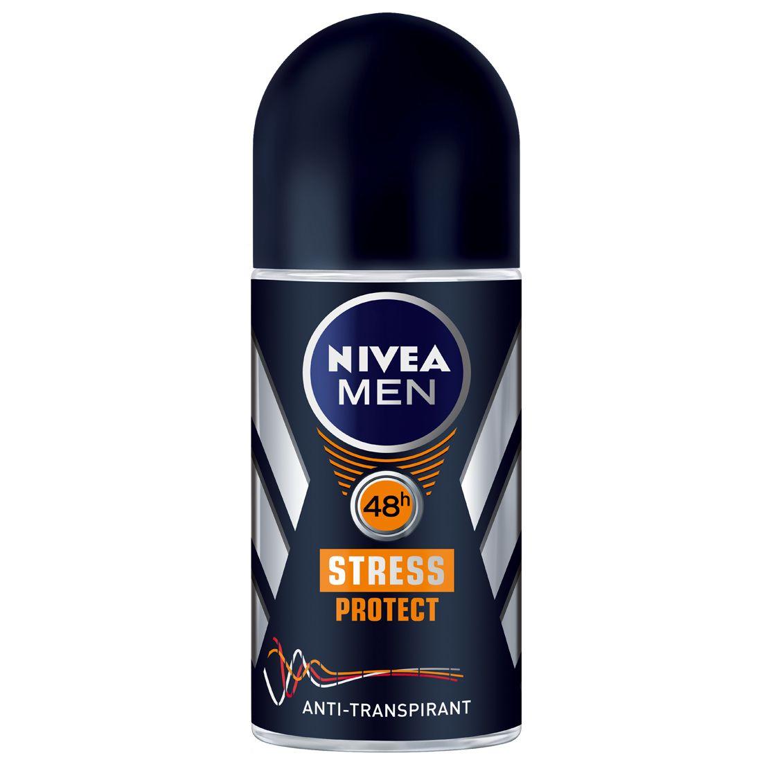 Besonders Starker Schutz Herzklopfen Pinterest Nivea Men Deodorant Dry Impact Roll On 50ml Stress Protect Niveamen Stressprotect