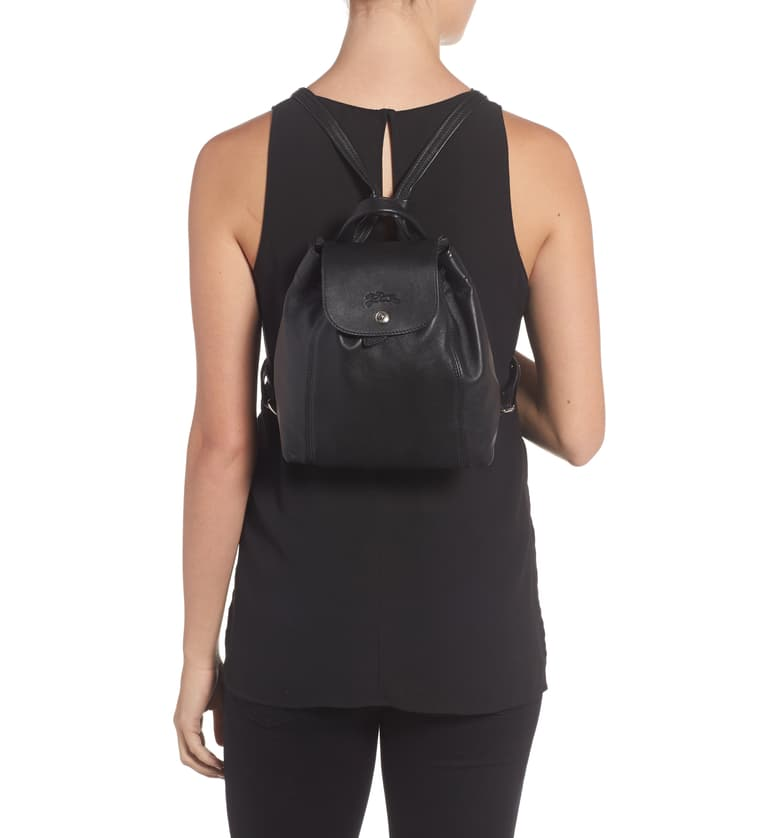 Longchamp Extra Small Le Pliage Cuir Backpack | Nordstrom ...