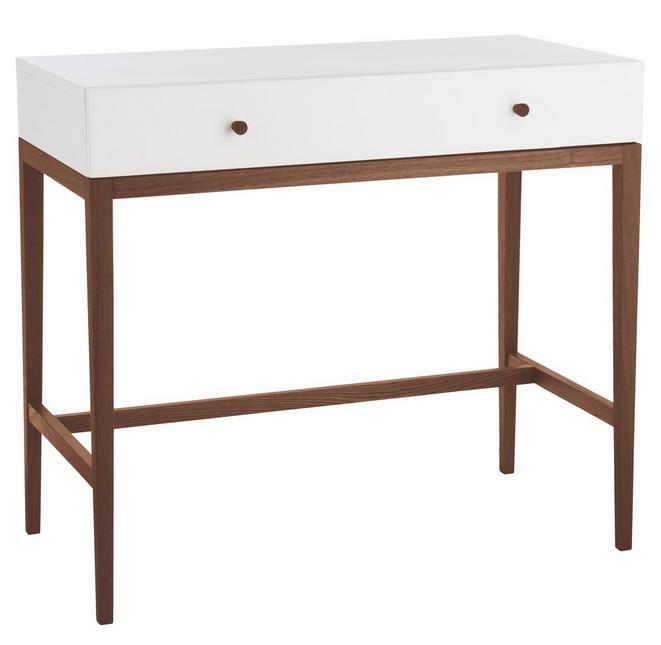 TATSUMA WALNUT White dressing table Dressing table argos