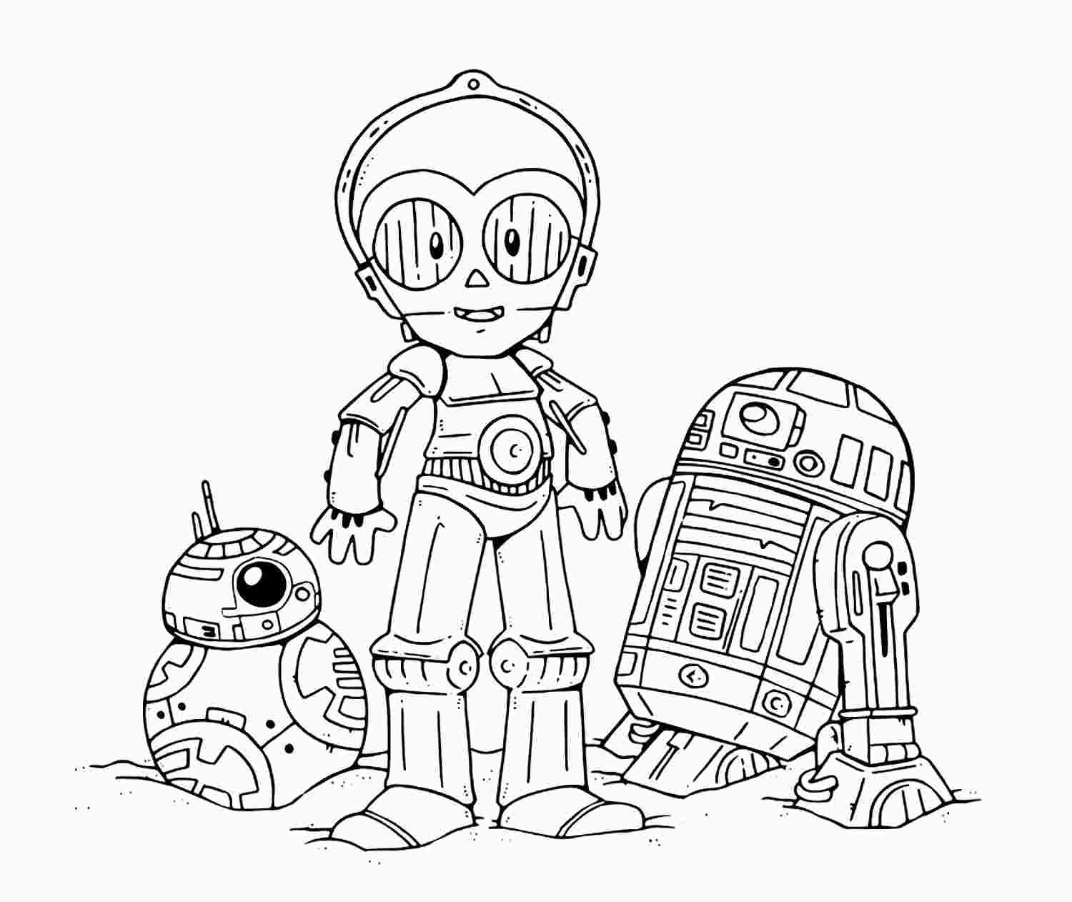 Cute Star Wars Coloring Pages With Images Star Wars Drawings