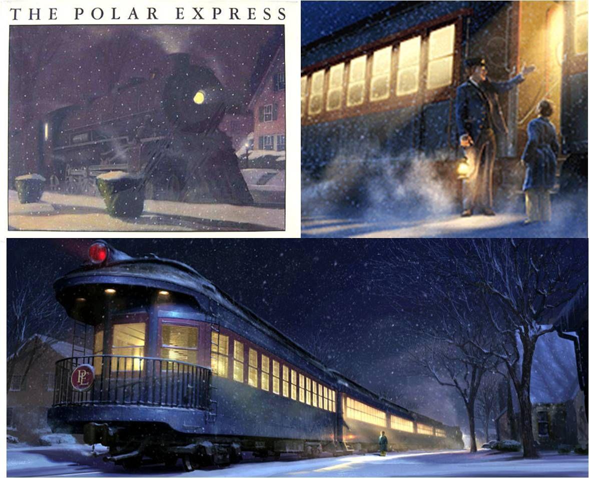 Chris Van Allsburg S The Polar Express I Created A Whole
