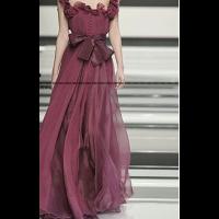 فساتين سهرة شيفون 2019 Red Evening Dress Chiffon Evening Dresses Evening Dresses