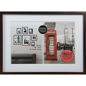Adventure Frame 16x22 With 12x18 Opening Oak Officeworks Frame Wooden Photo Frames Buy Office Furniture