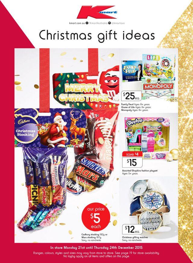 Kmart Catalogue 21 - 24 December 2015 - http://olcatalogue.com/kmart ...