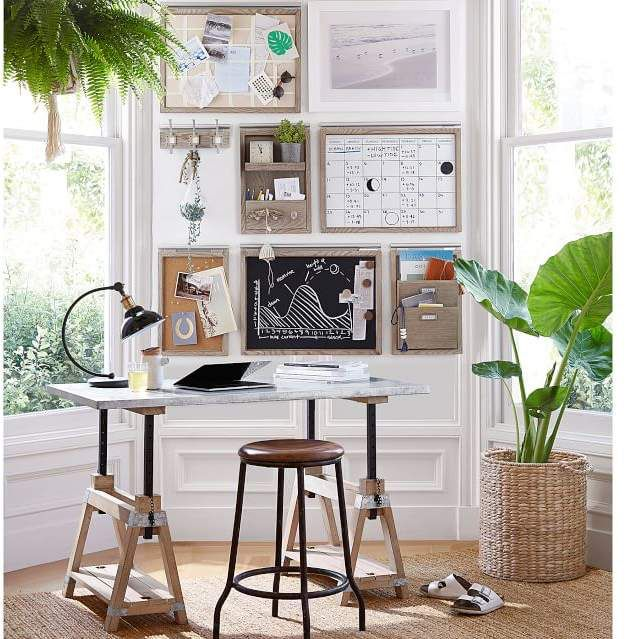 Great Idea For Home Office- Customizable Pieces That Make