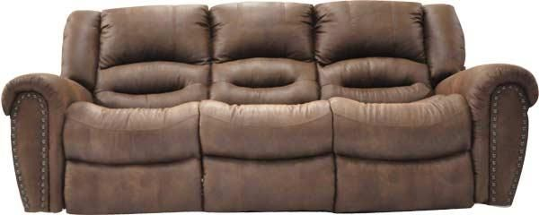 Chaise Sofa  Microfiber Reclining Sofa by Cheers Sofa