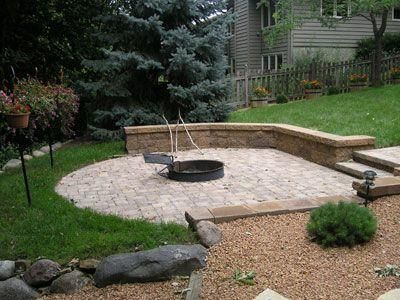 Leveling Off This Sloping Side Yard With A Paver Patio And