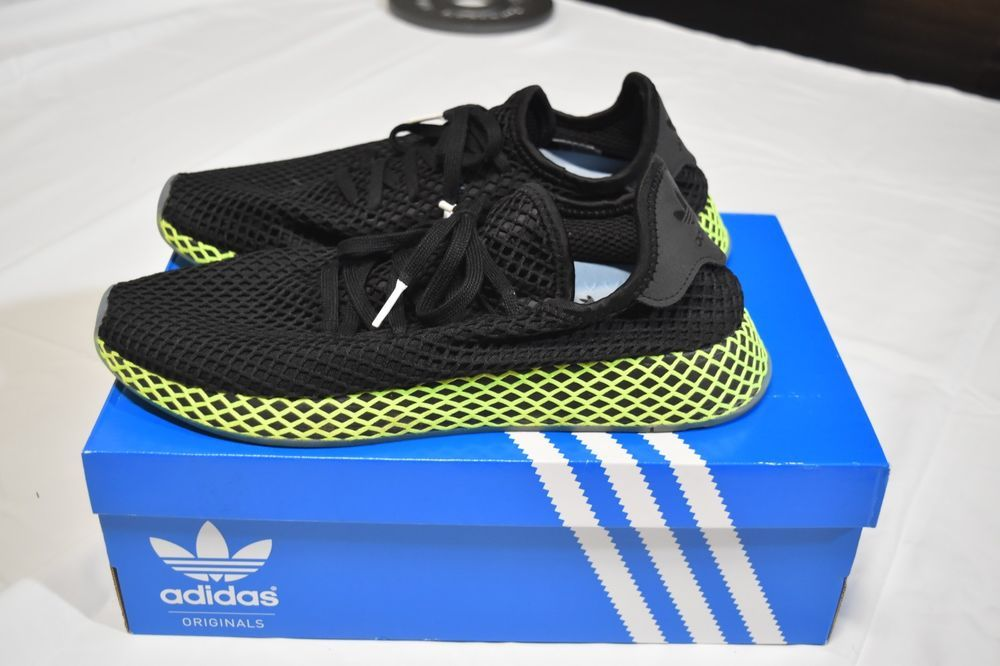 hot sale online 2c501 eb314 Adidas Deerupt Runners Size 12 B41755 Core Black fashion clothing shoes  accessories mensshoes athleticshoes (ebay link)